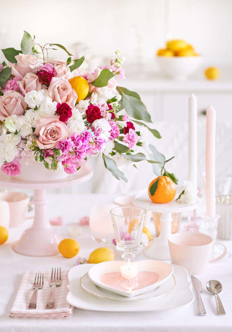 10 idee per rendere unica la tavola di San Valentino