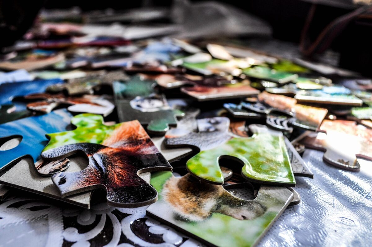 Foto, Puzzle
