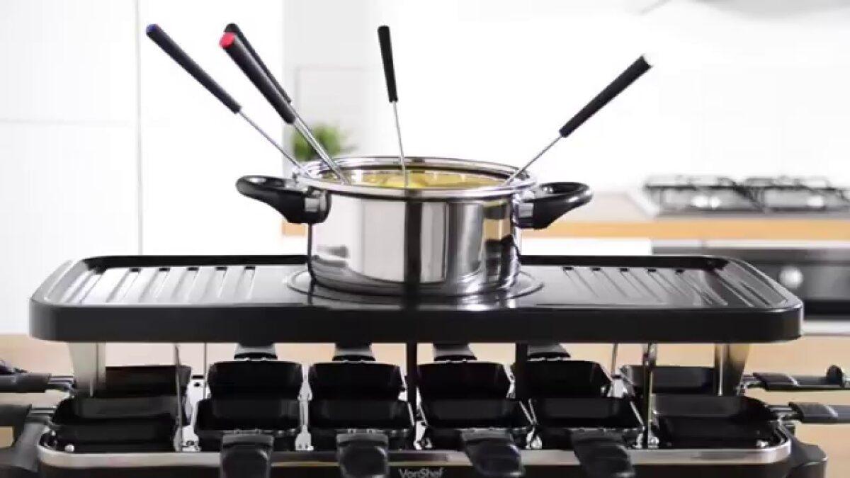 Come scegliere il set per raclette e fonduta