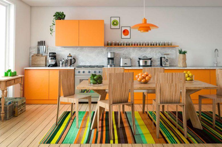 arancione cucina