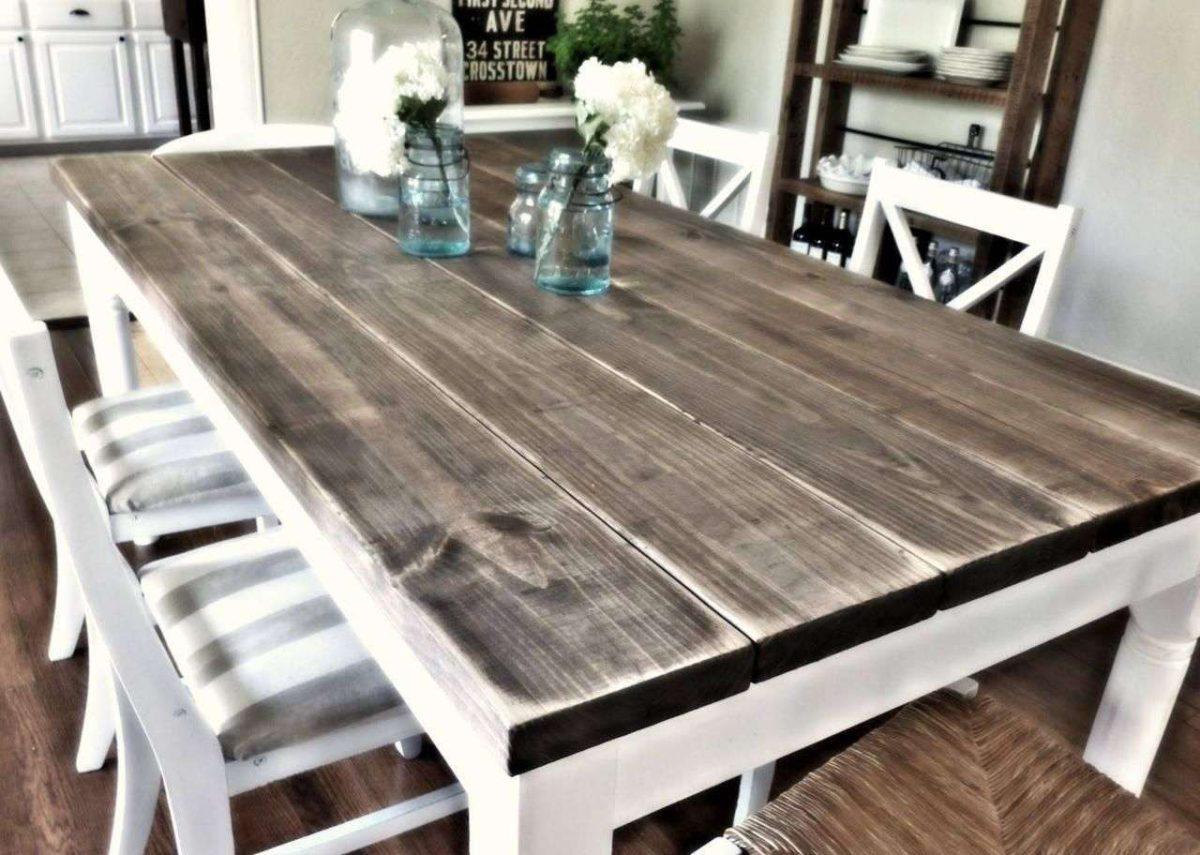 10 idee di tavoli da cucina fai da te