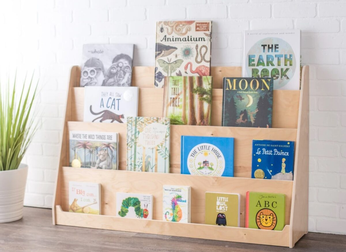 Libreria montessoriana: idee di fai da te