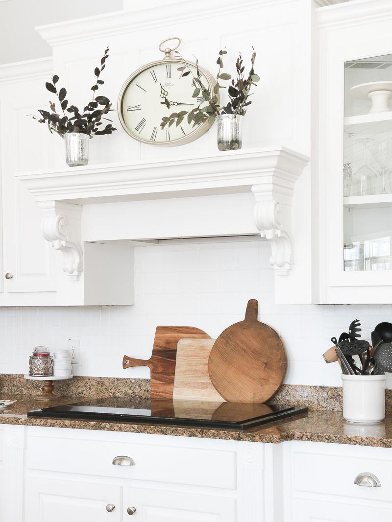 cucina bianca dettagli