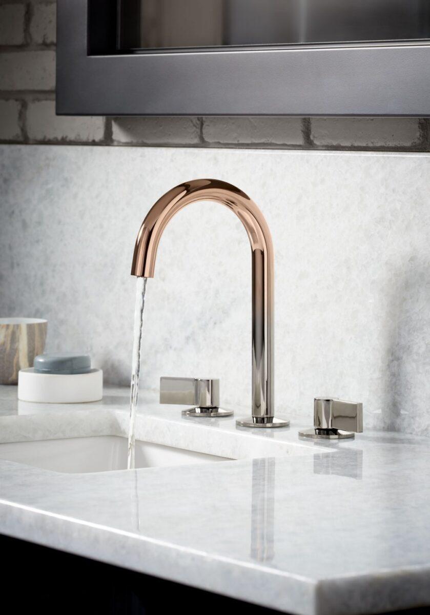 rubinetto di design moderno