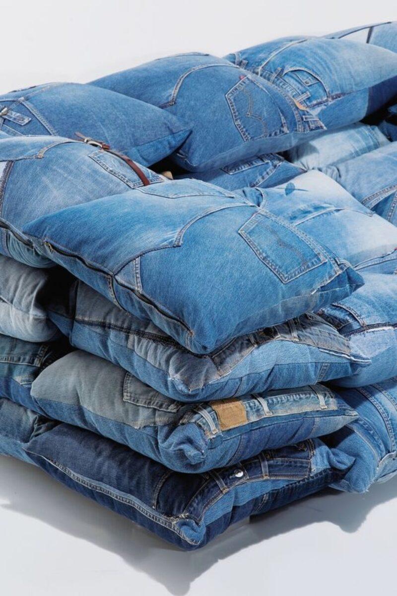 10 foto e idee per riciclare i jeans 1
