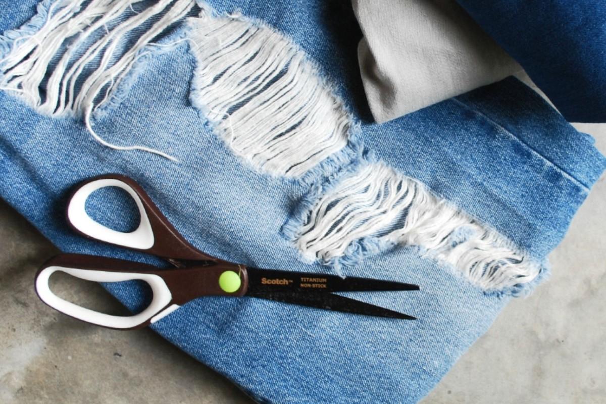10 foto e idee per riciclare i jeans 3