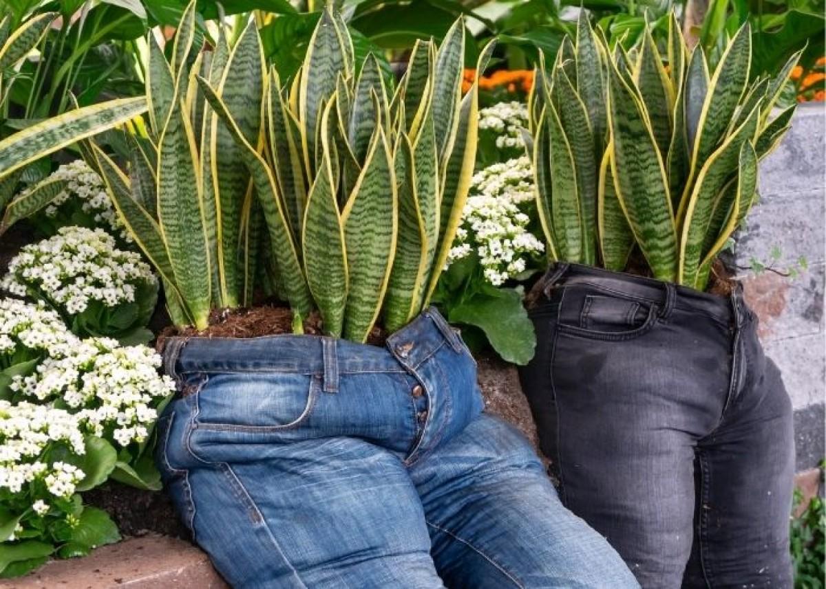 10 foto e idee per riciclare i jeans 6