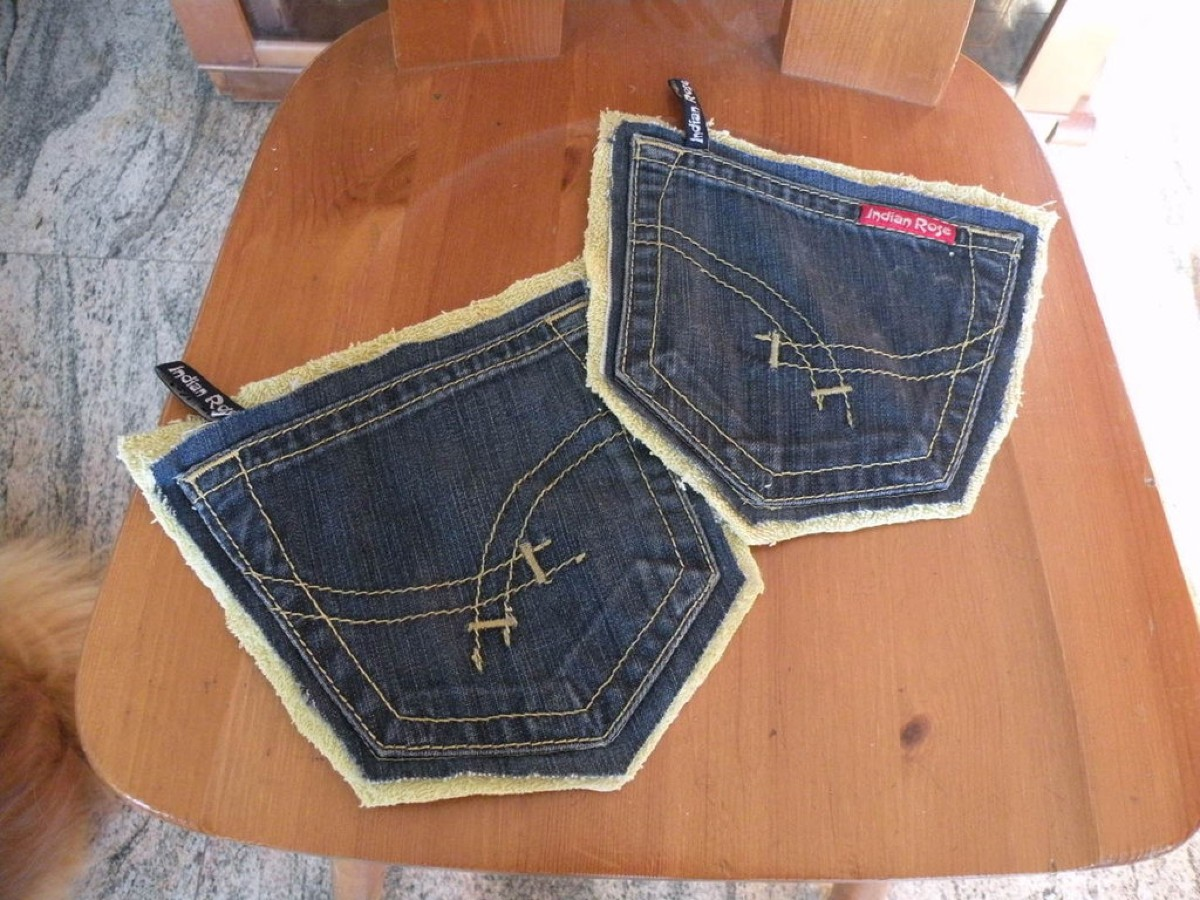 10 foto e idee per riciclare i jeans 7