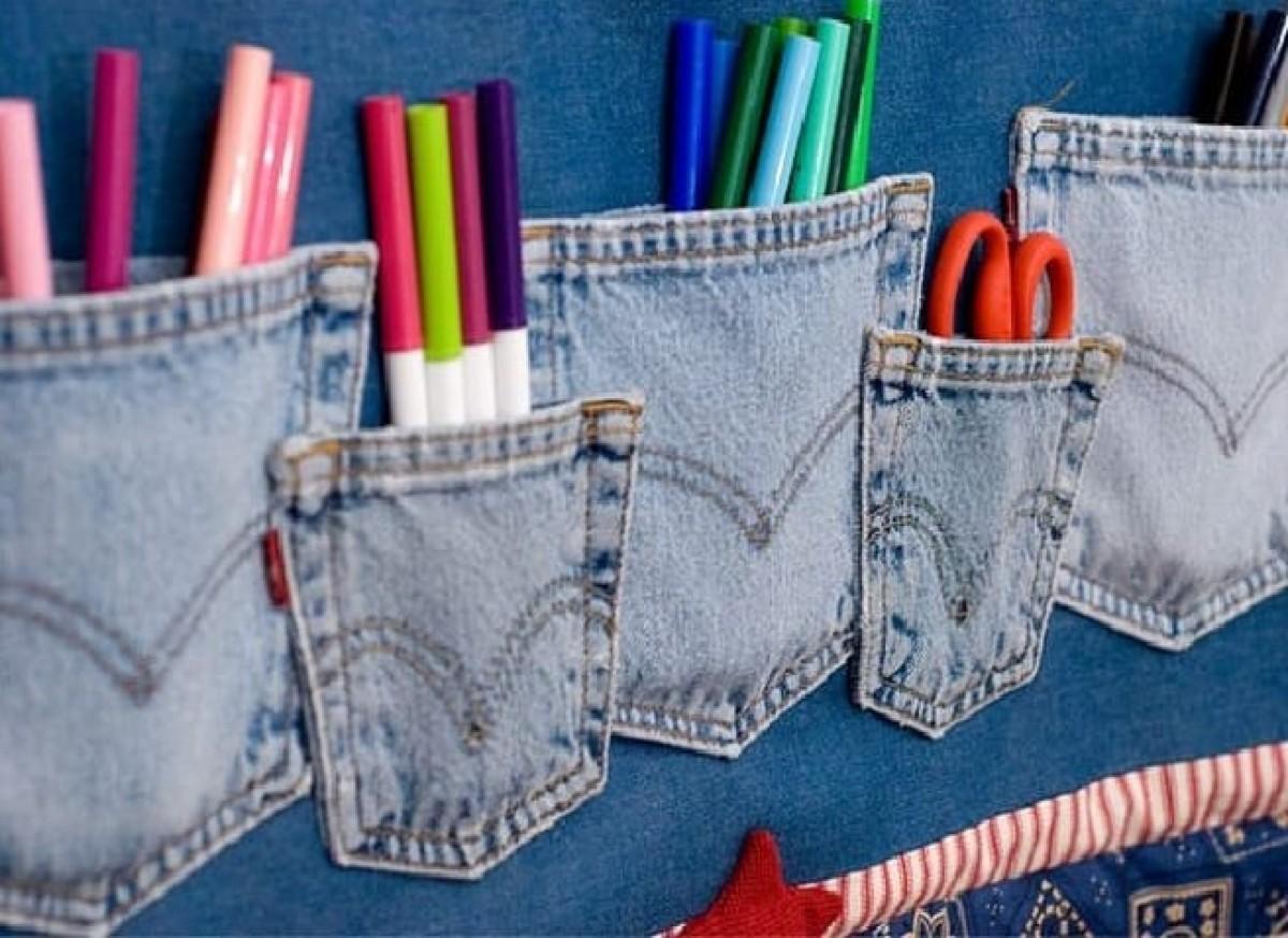 10 foto e idee per riciclare i jeans 8