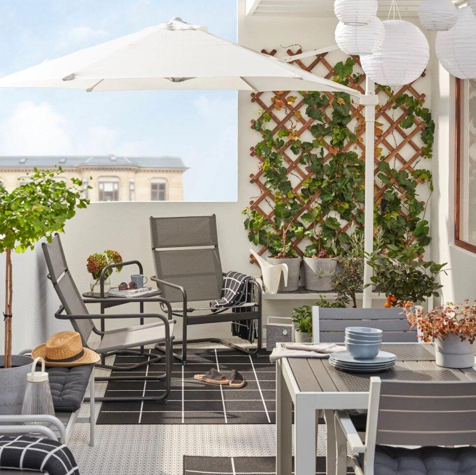10 idee e foto di tavoli per balcone