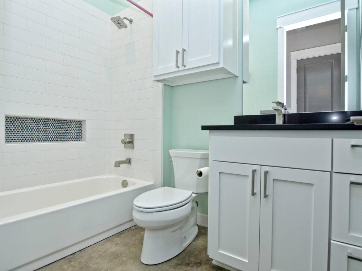 10 idee e foto di verde menta per il bagno