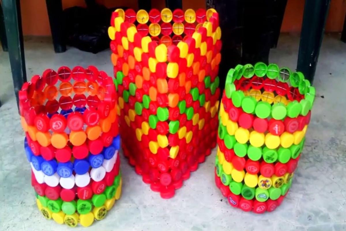 10 idee e foto per riciclare i tappi di plastica 9