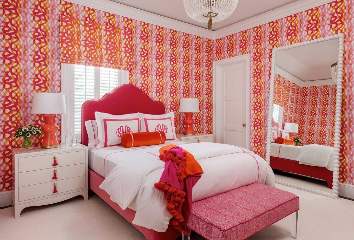 Abbinamento con l'arancione e rosa