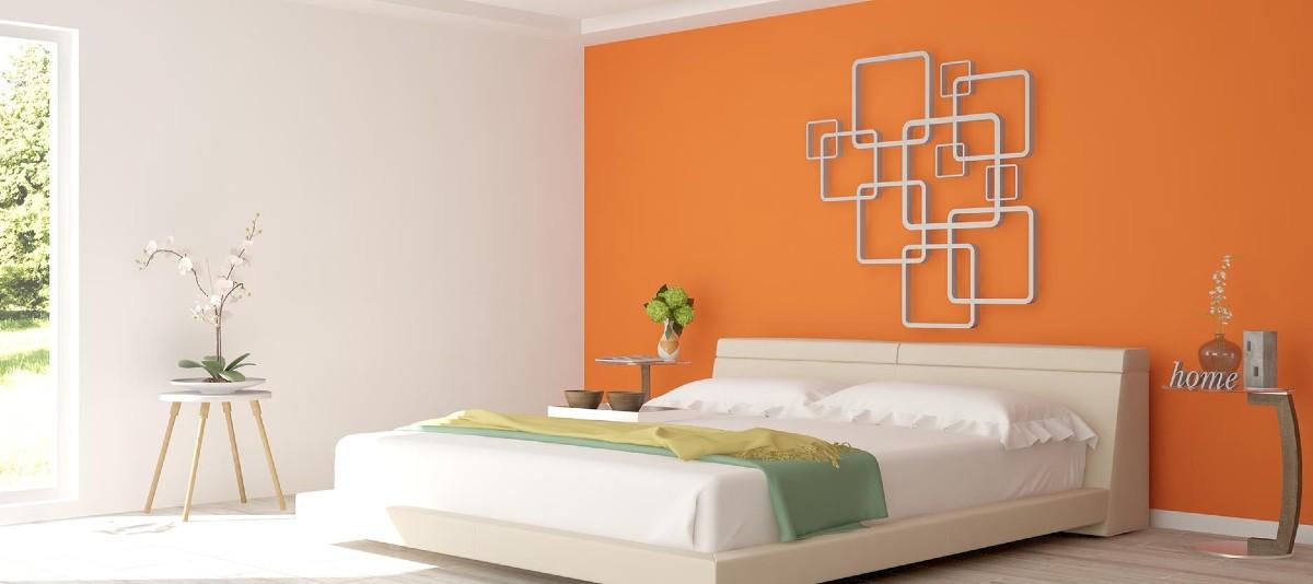Abbinamento con l'arancione moderno