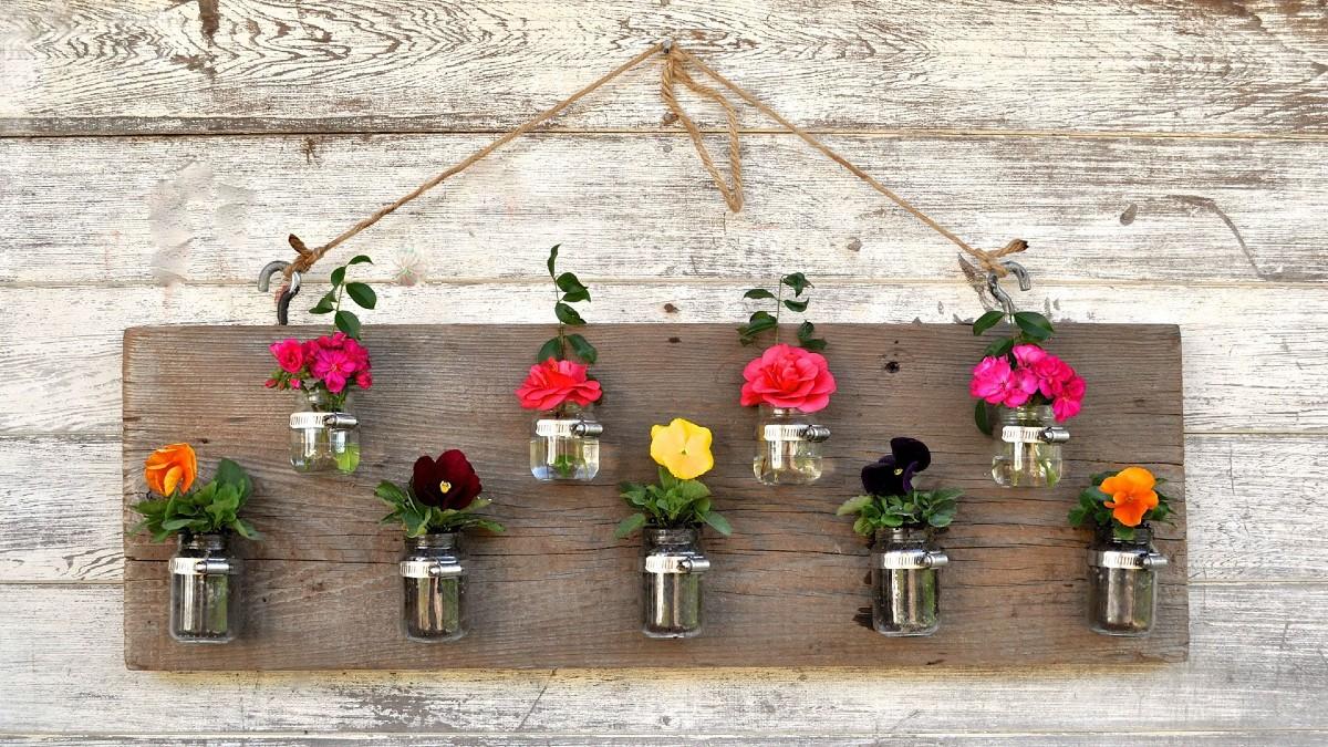 10 idee e foto per creare fioriere fai da te