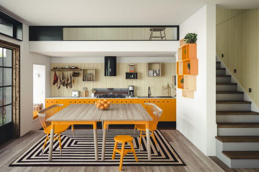 abbinamenti-migliori-per-l'arancione-in-cucina-10-idee-e-foto-11