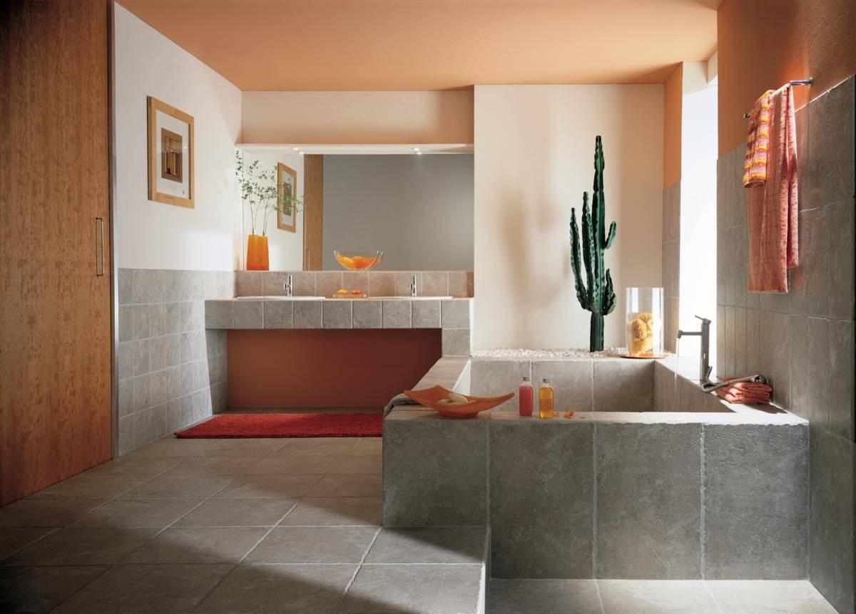 10 idee e foto di color salmone per il bagno