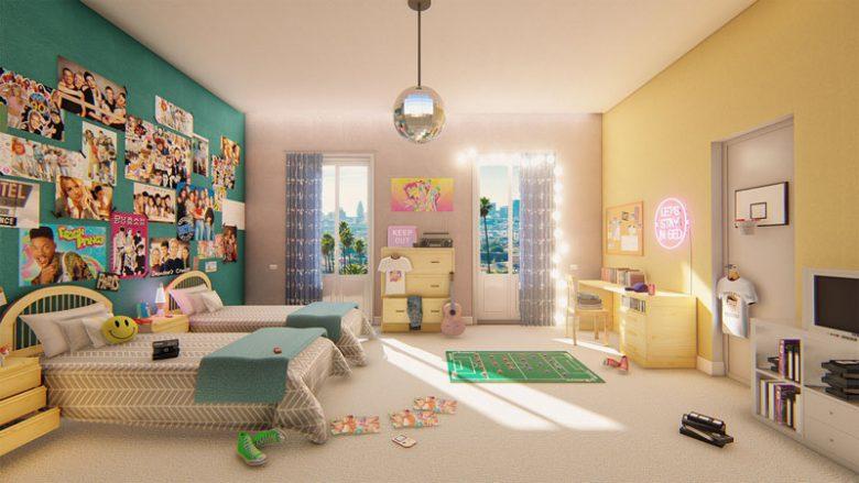 camera-da-letto-stile-anni-80-11