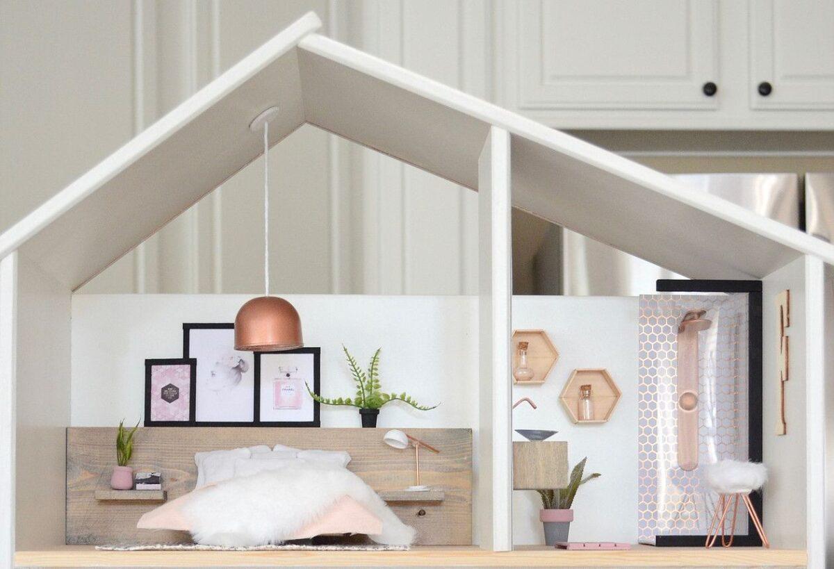 casa per bambole come creare