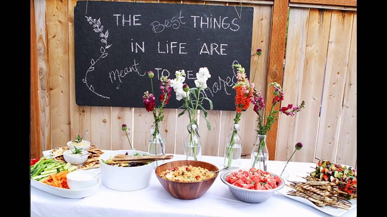 cena terrazza buffet