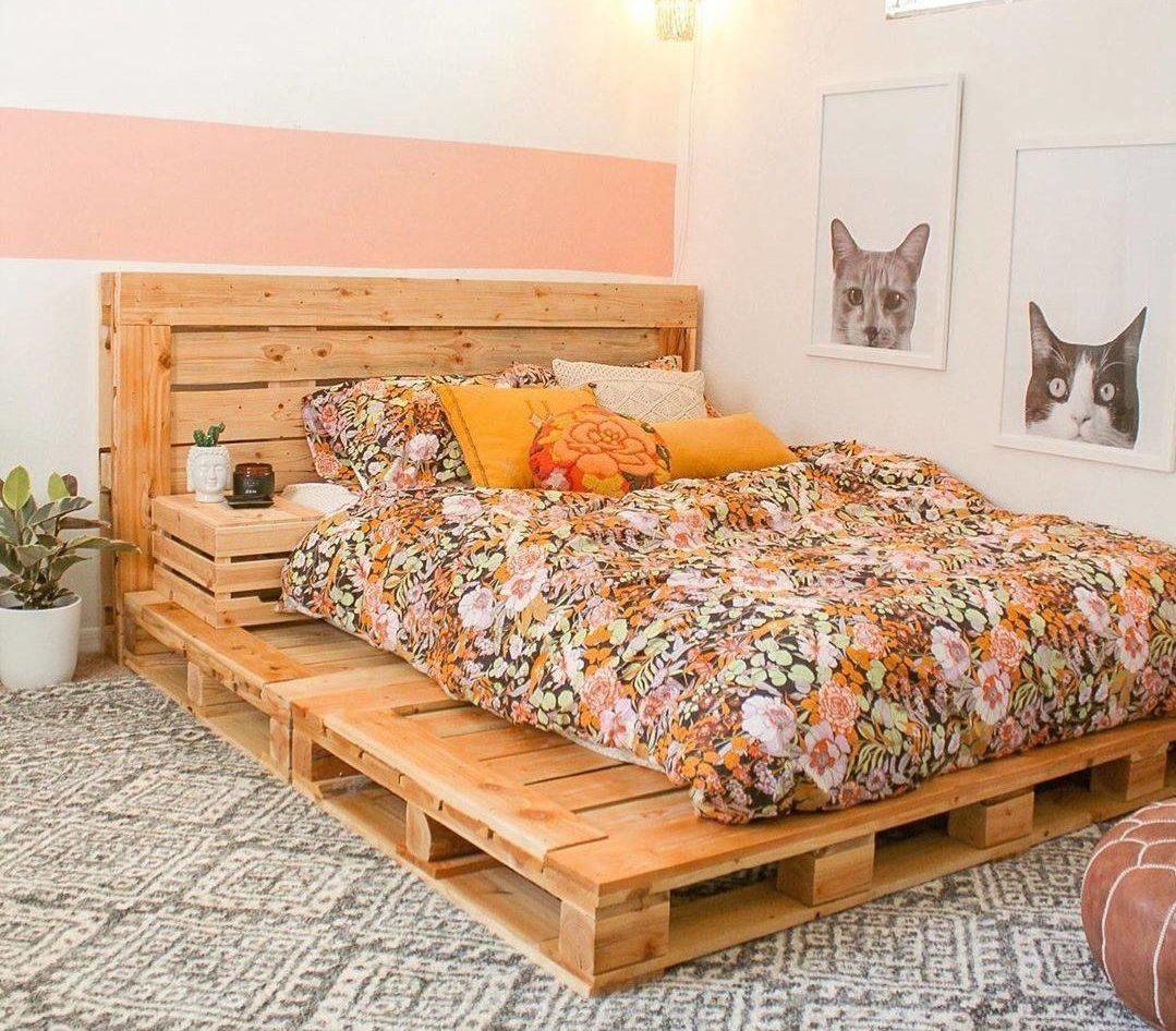 pallet letto
