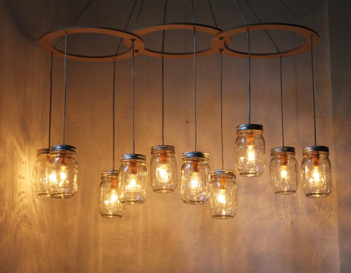 vasetti lampadario