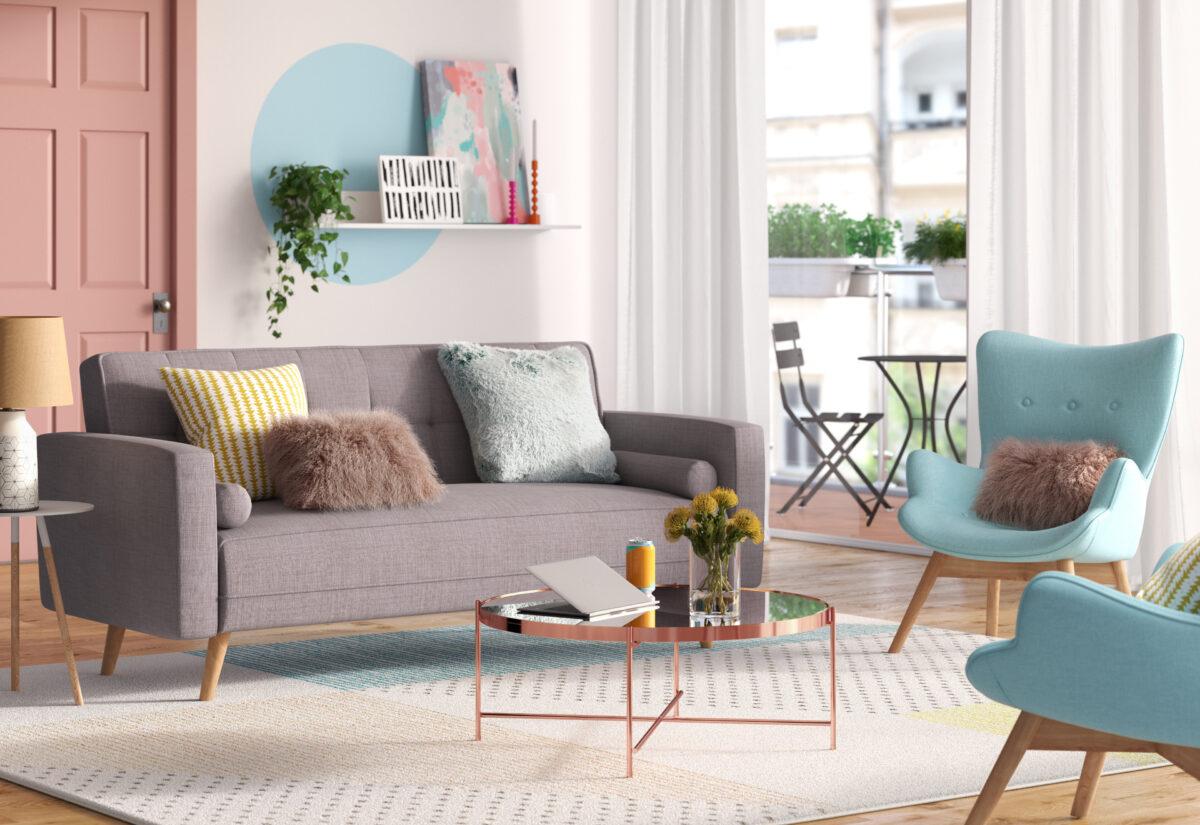 10 decorazioni low cost per il soggiorno: idee e foto