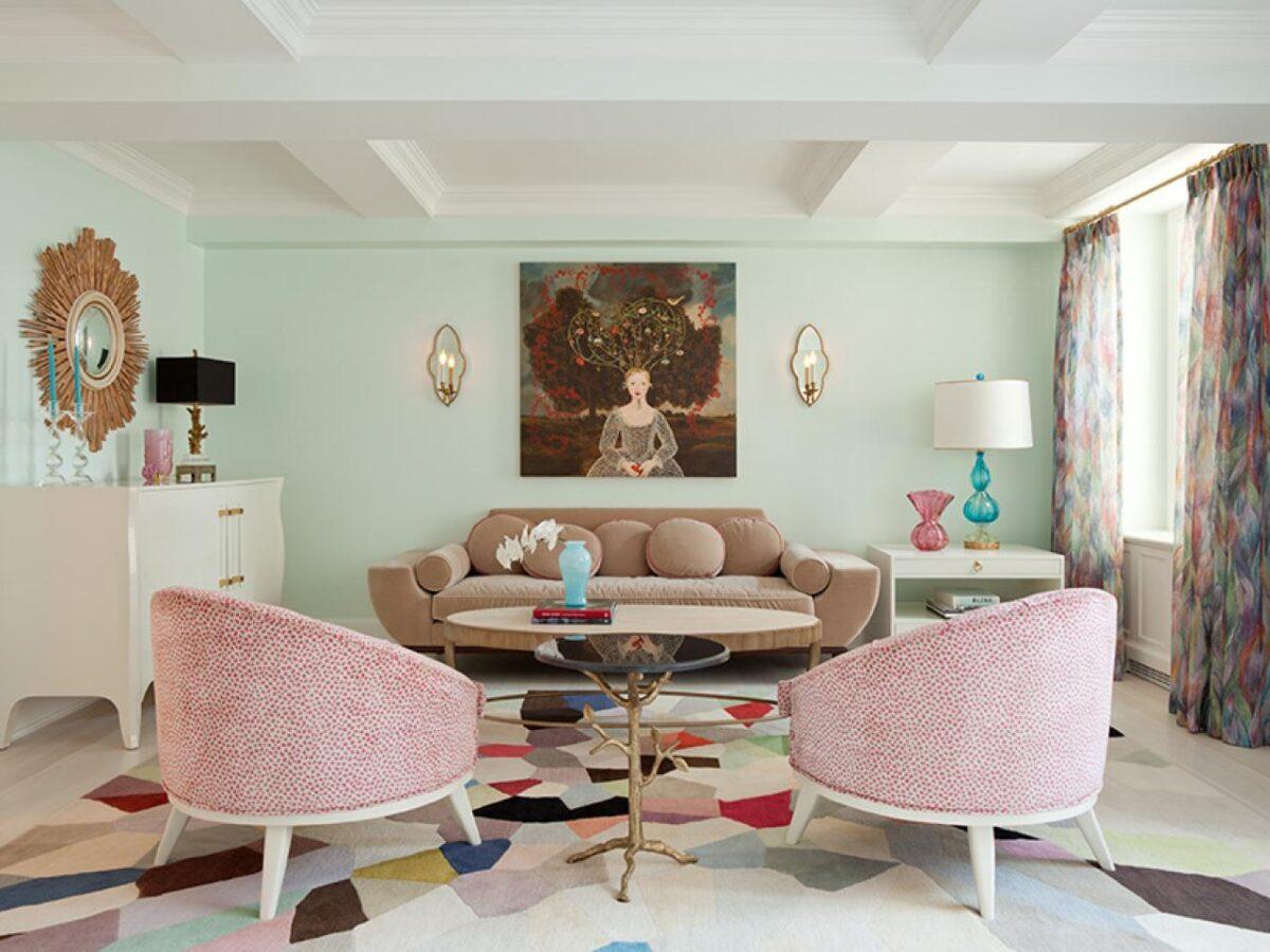 10 idee e foto di colori pastello per il soggiorno