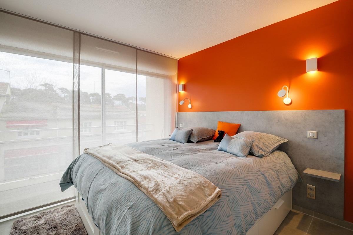 Camera da letto pareti color arancione: 10 idee e foto