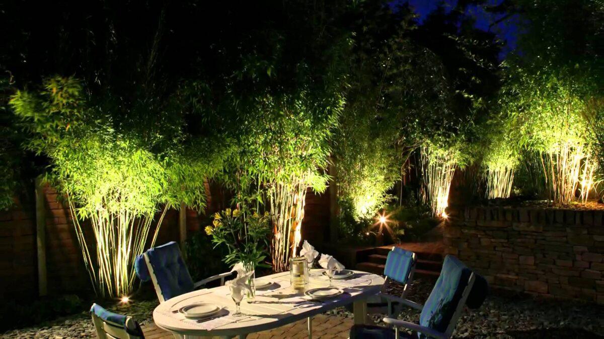 giardino luci