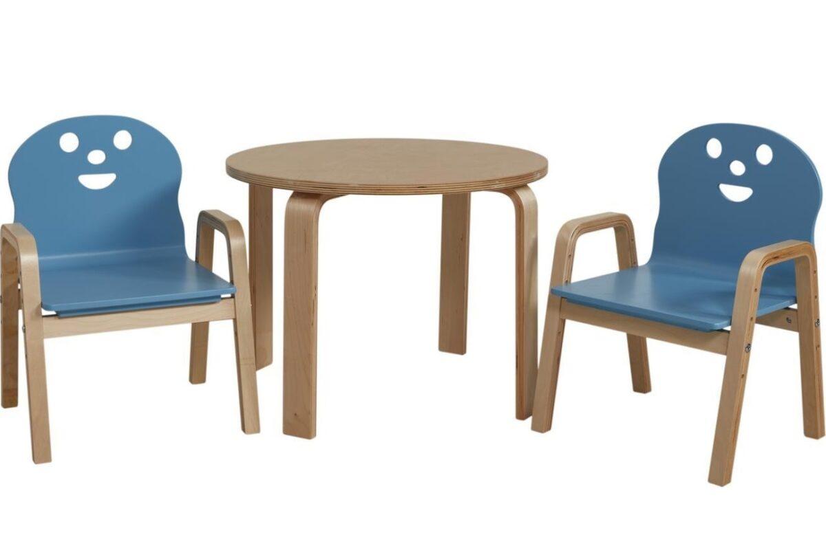 sedie-color-blu-per-la-cucina-per bambini