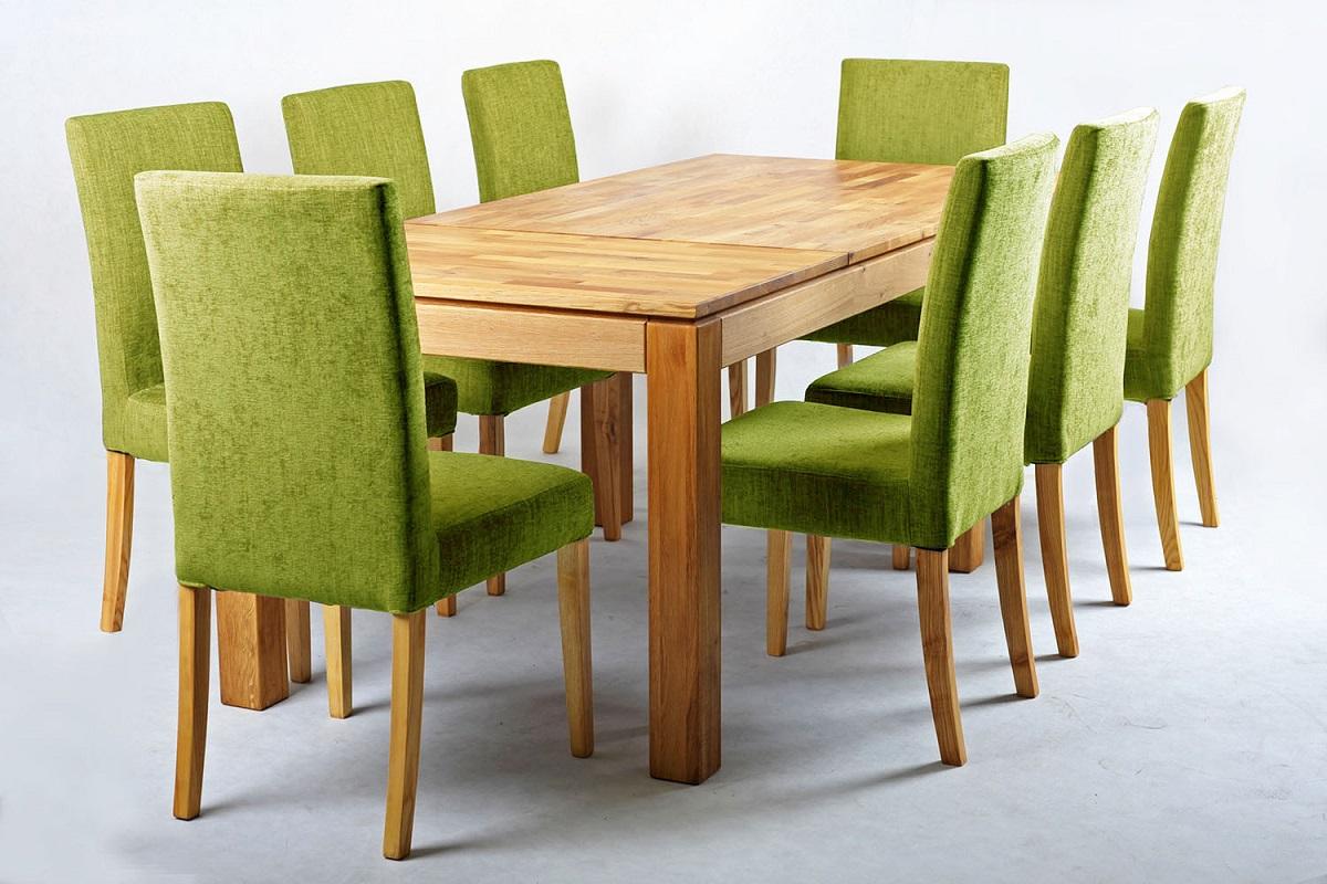 sedie color verde imbottite