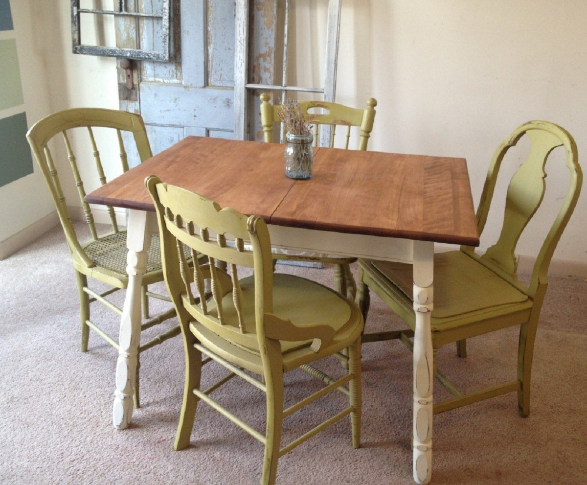 Green Kitchen Table And Chairssmall country kitchen table set c1 1024×846 vintage small kitchen