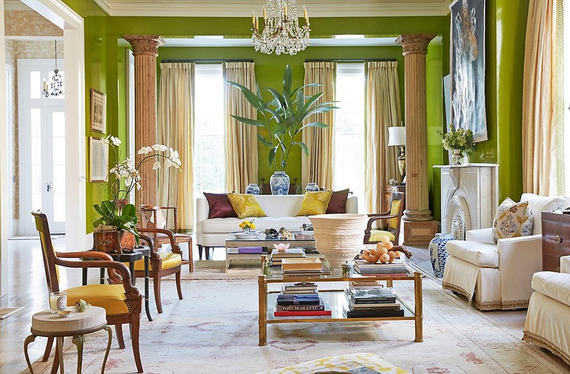 soggiorno-verde-giallo
