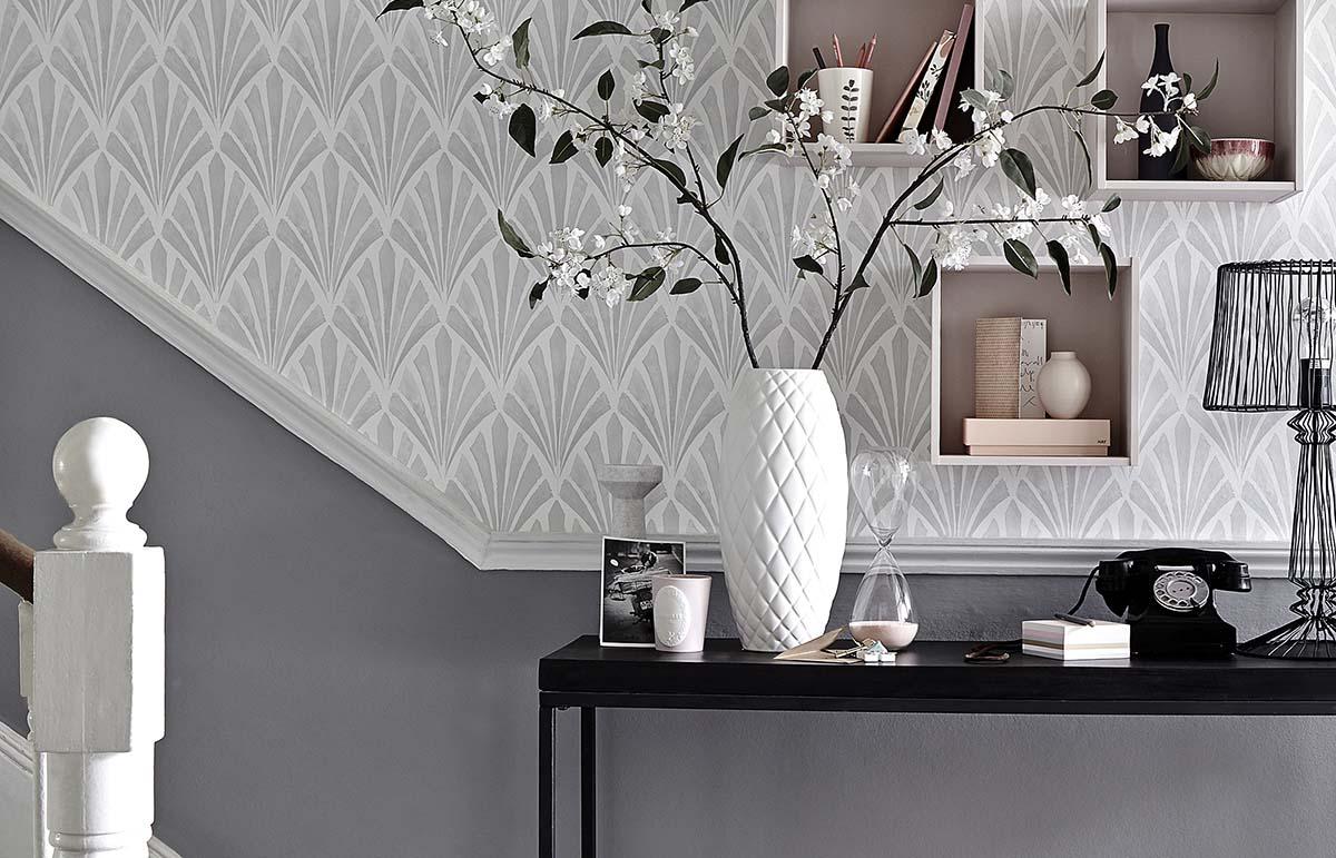 Ingresso pareti color argento: 10 idee e foto