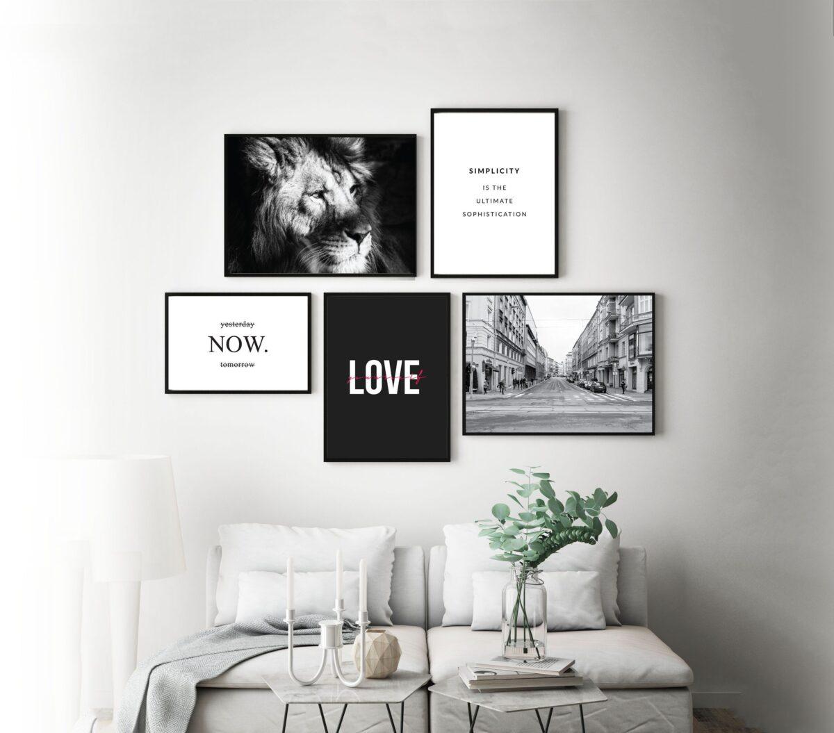 Abbellire casa con i poster: 10 idee e foto