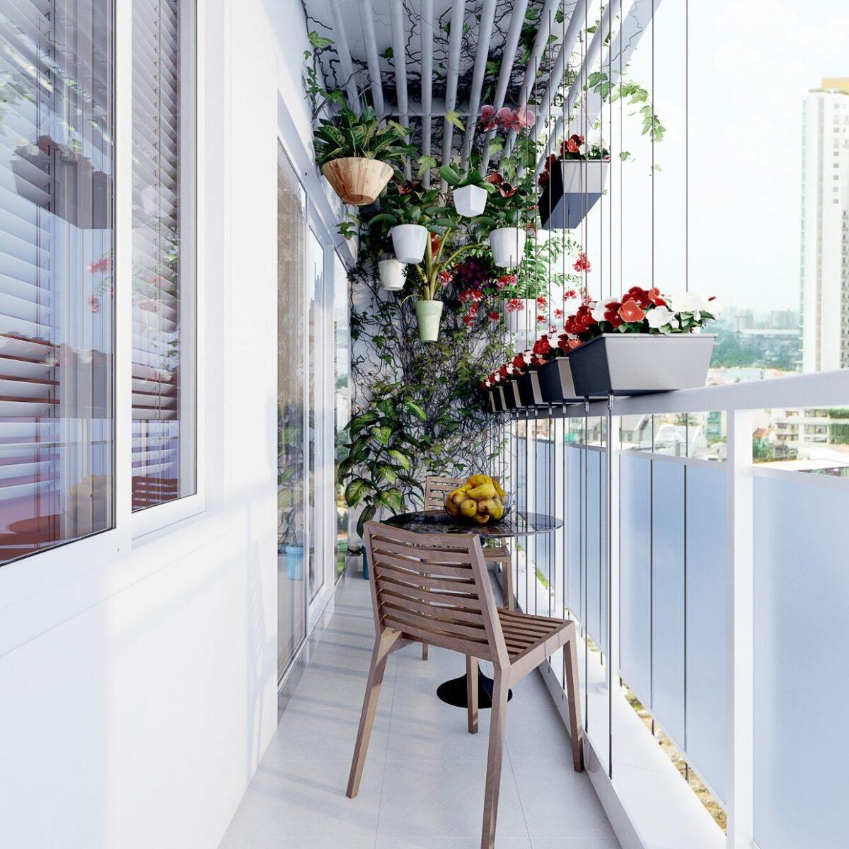Arredare balcone stretto e lungo: 10 idee e foto