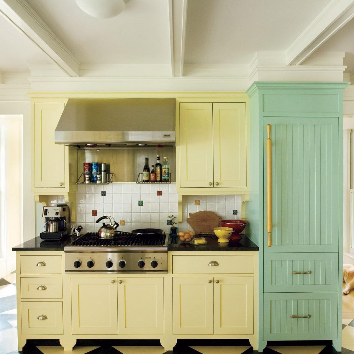 Cucina piccola: 10 idee e foto di colori ideali
