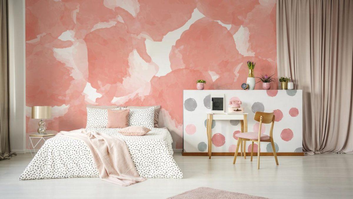 Pareti camera da letto color corallo: 10 idee e foto