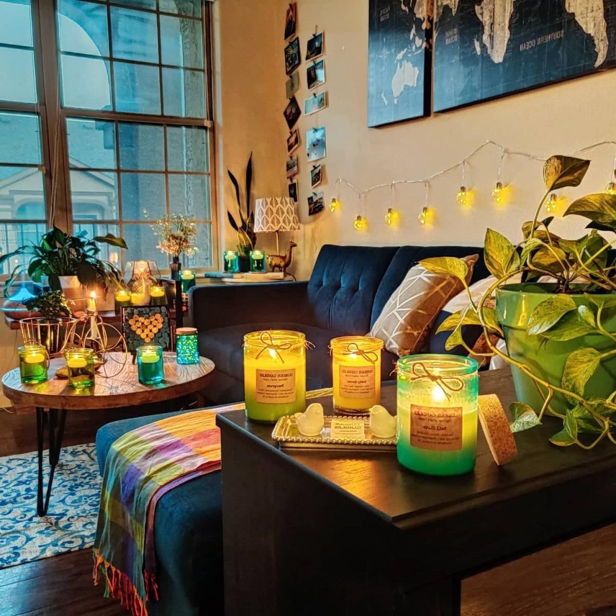 Profumare casa con le candele: 10 idee e foto