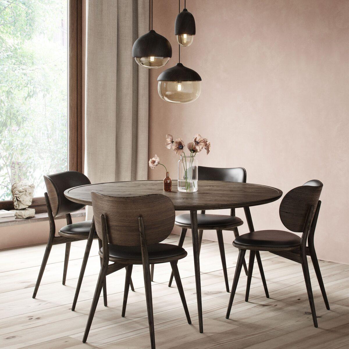 sedia-vintage-legno-e-pelle-nera