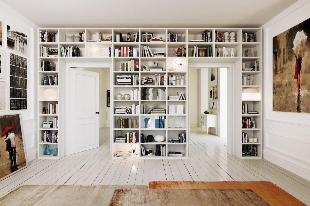 Libreria in soggiorno 10 idee e foto 1