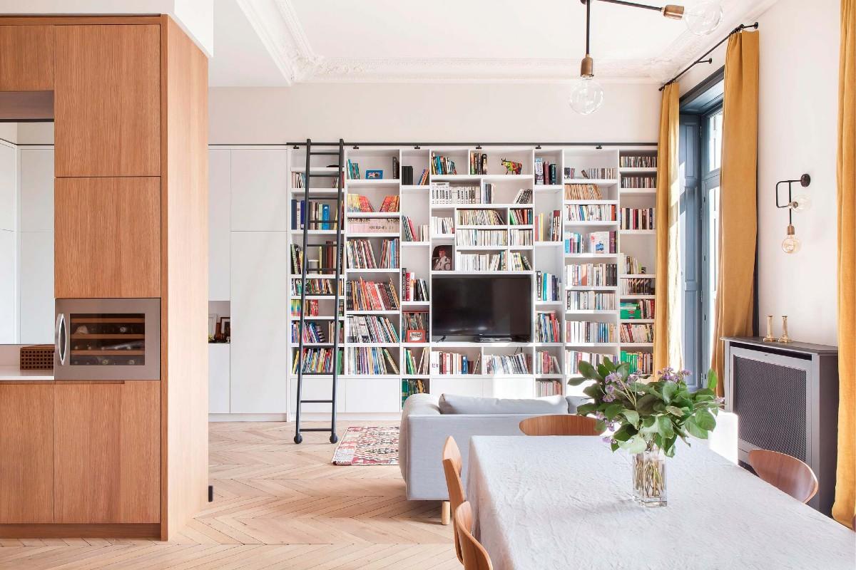 Libreria in soggiorno 10 idee e foto 2