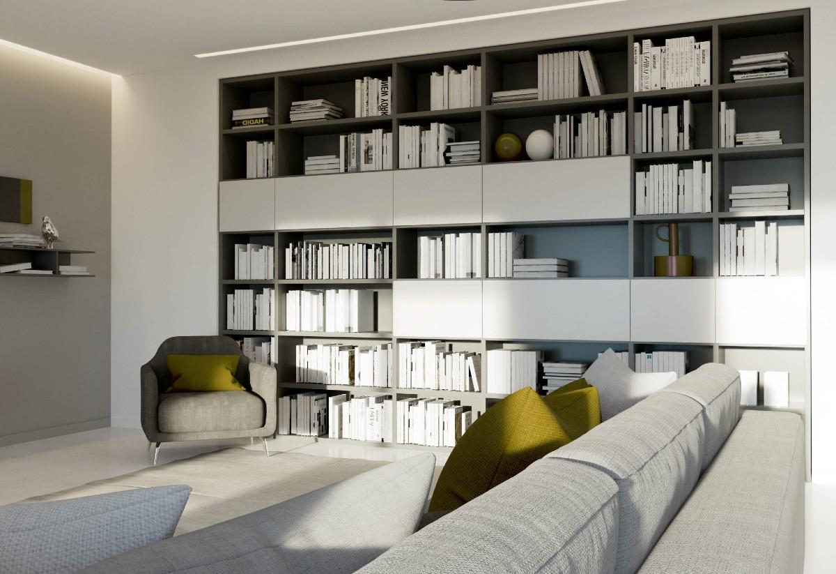 Libreria in soggiorno 10 idee e foto 3