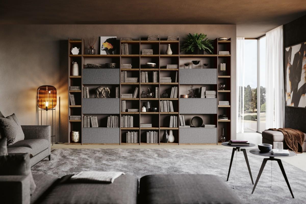 Libreria in soggiorno 10 idee e foto 4