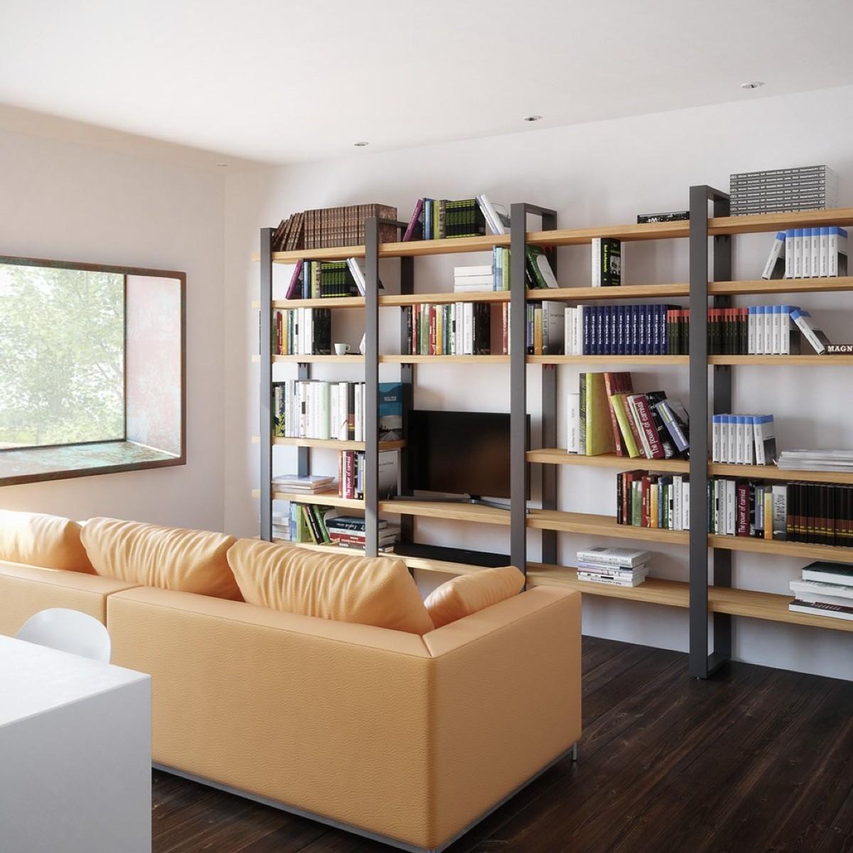 Libreria in soggiorno 10 idee e foto 6