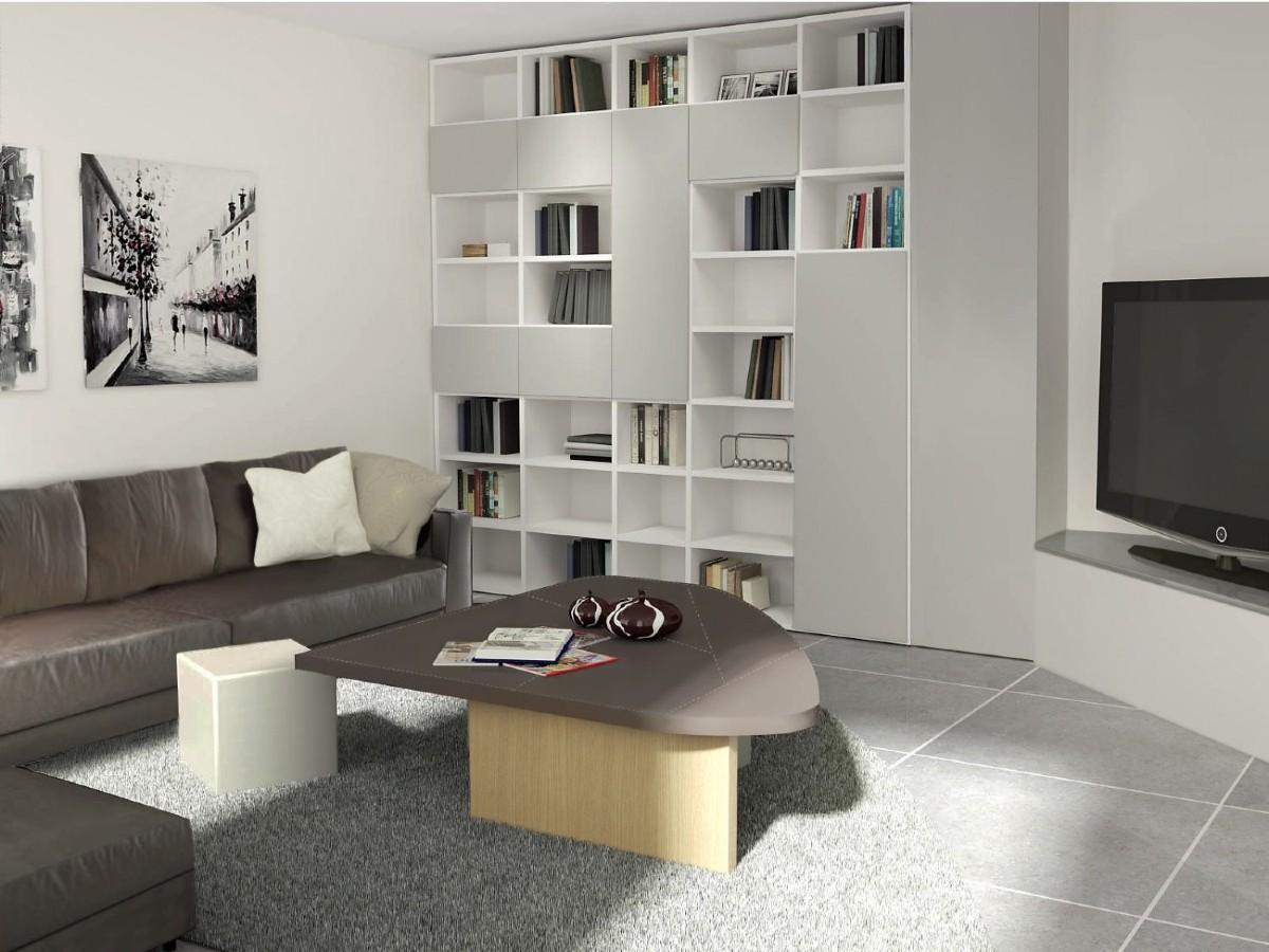 Libreria in soggiorno 10 idee e foto 9