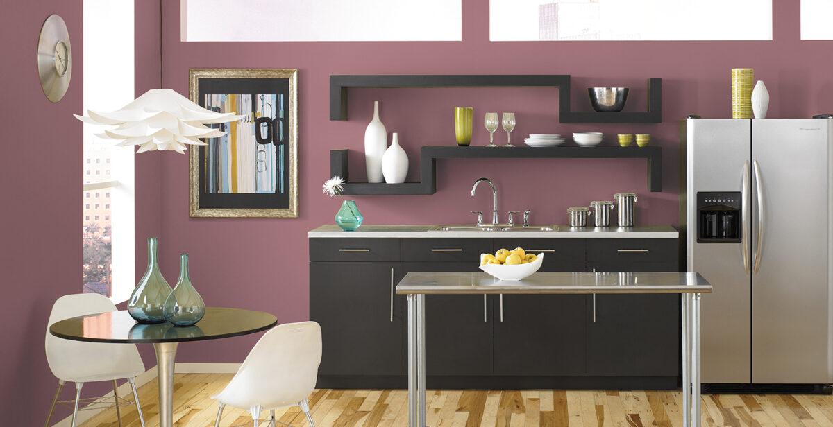 cucina-magenta-moderna