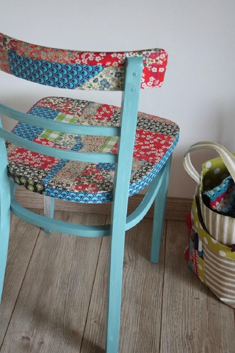 decoupage su una sedia 10 idee e foto fiori su legno