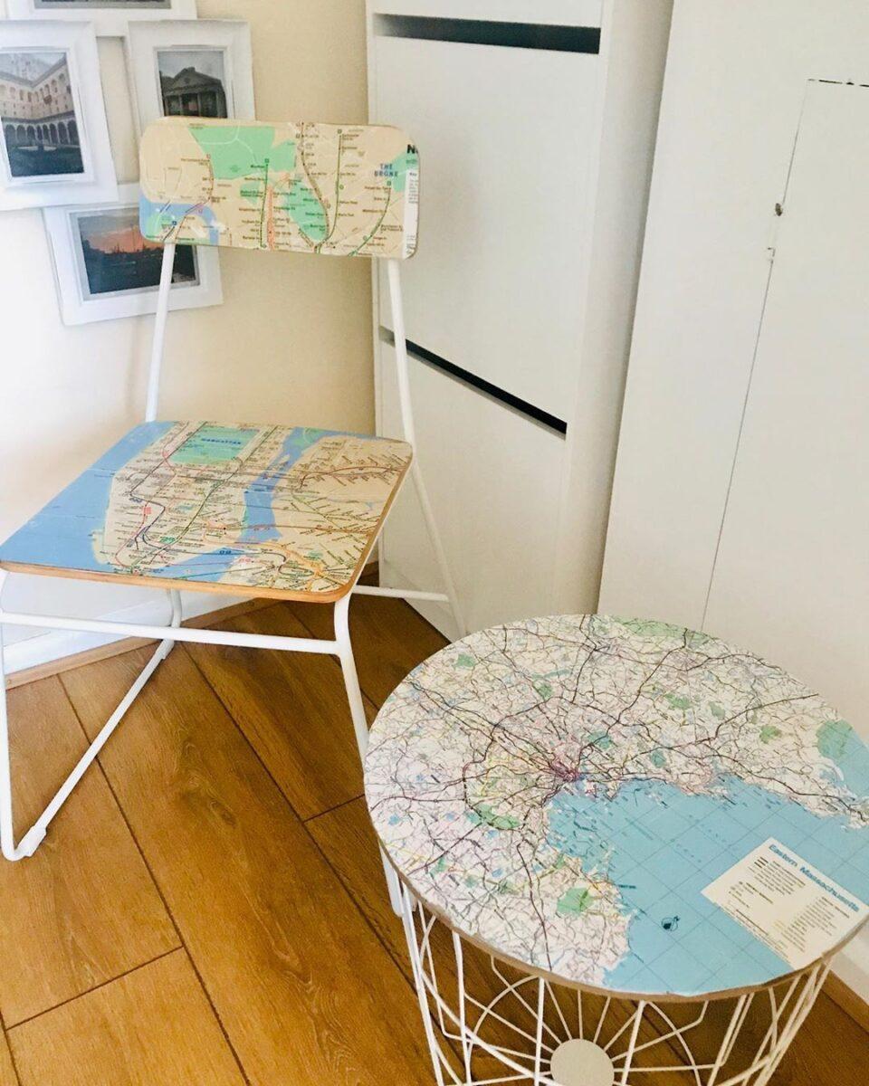 decoupage su una sedia 10 idee e foto sedia in ferro